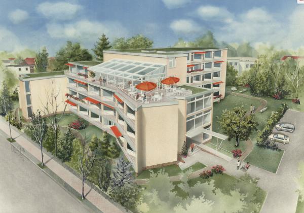Architekt Sanierung Pflegeheim Seniorenimmobilie