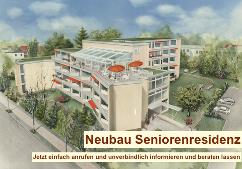 Neubau Seniorenresidenz - Seniorenresidenz planen