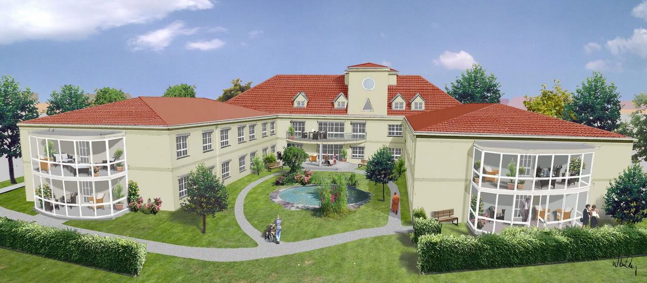 Pflegeheim Architektur Planung Projektentwicklung